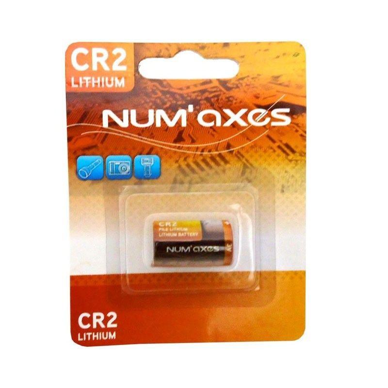 Lithiová baterie NumAxes 3V CR2