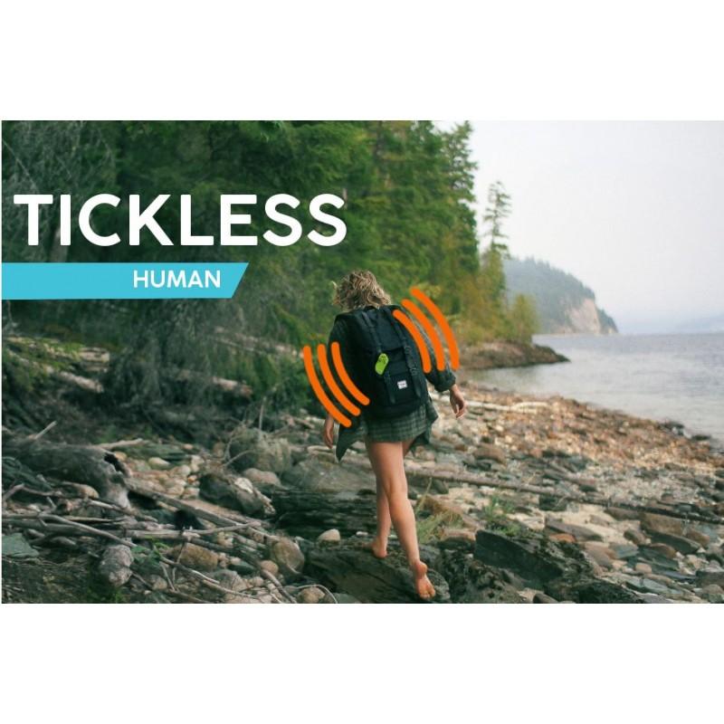 Ultrazvukový repelent Tickless HUMAN proti klíšťatům
