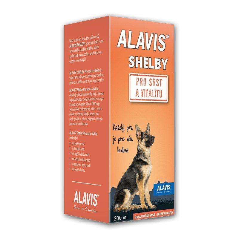 Alavis SHELBY pro srst a vitalitu