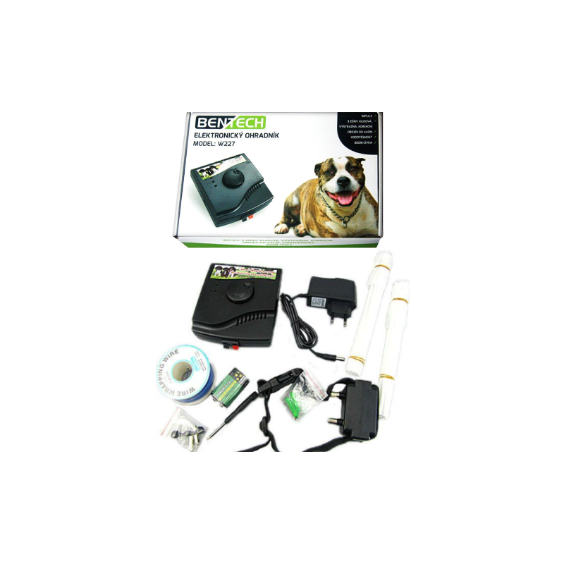 Elektronický ohradník pro psy Bentech 023 - Bazar