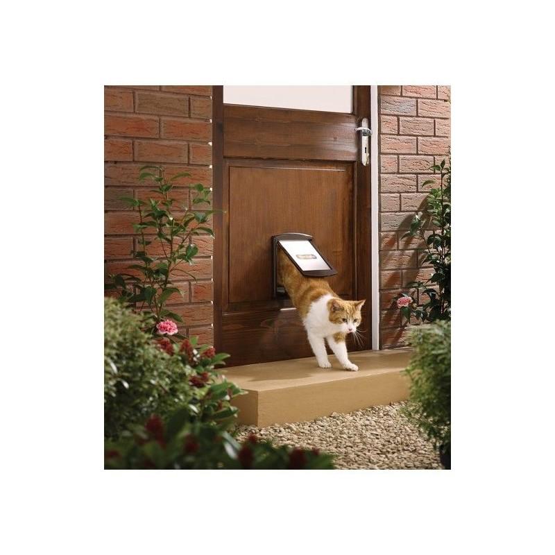 Dvířka pro psy a kočky Staywell 730, hnědá S