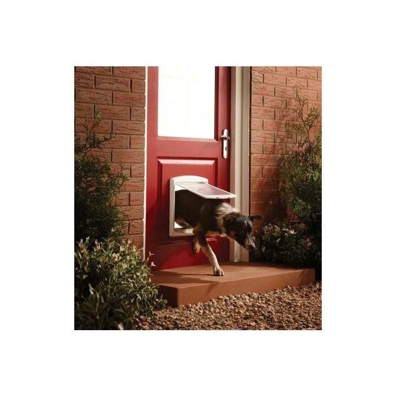 Dvířka pro psy Staywell 740, bílá M