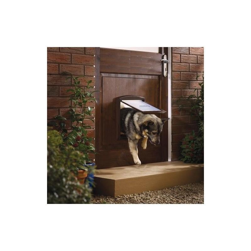 Dvířka pro psy Staywell 755, hnědá M
