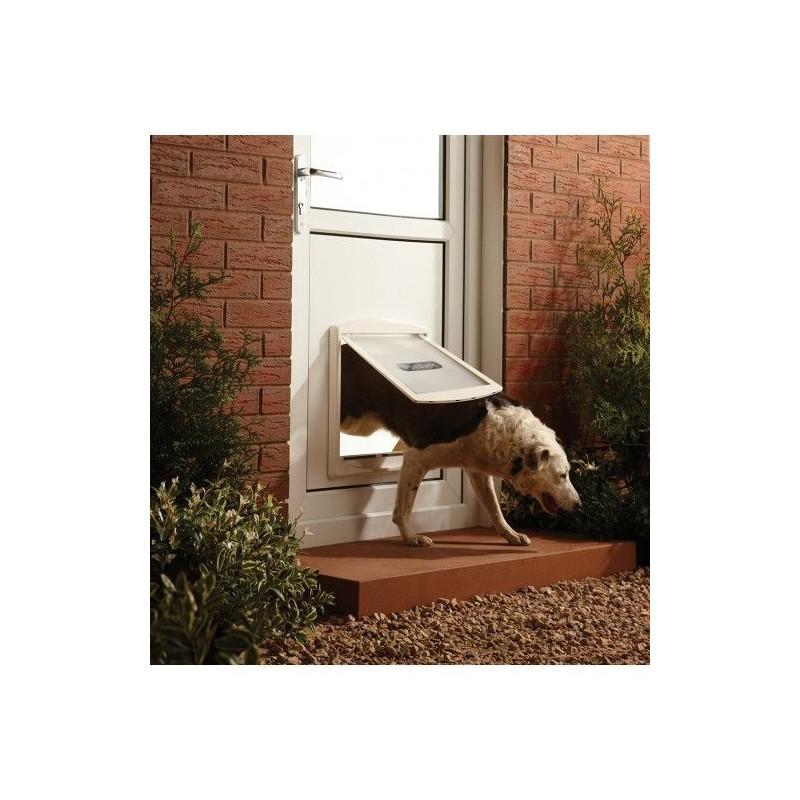 Dvířka pro psy Staywell 760, bílá L