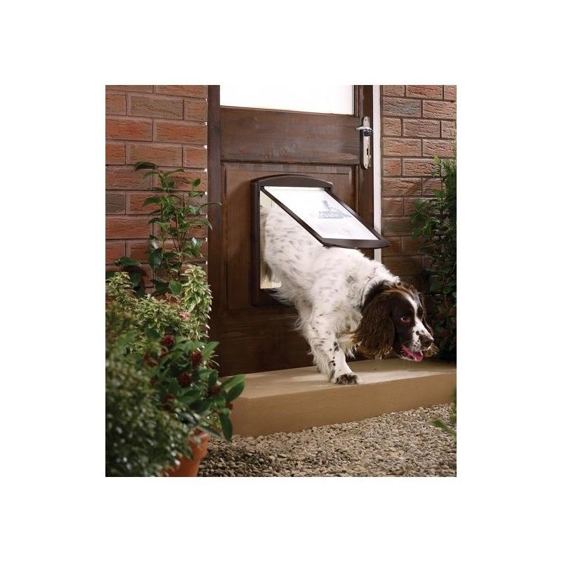 Dvířka pro psy Staywell 775, hnědá L