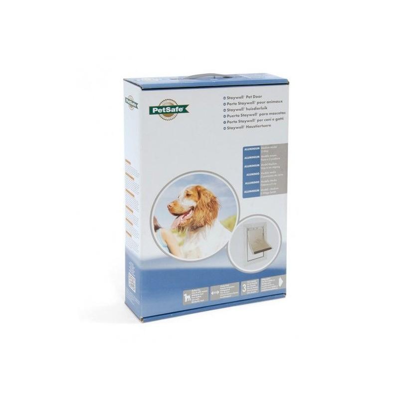 Dvířka pro psy Staywell 620 ML - Hliníková