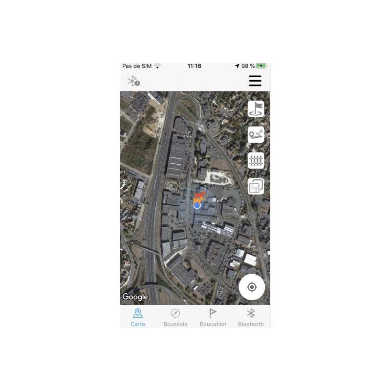 Výcvikový a GPS obojek Canicom GEO1047