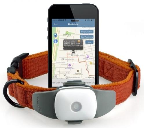 GPS lokátor pro psy